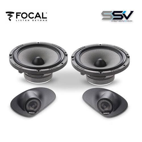focal ifp 207 focal speaker upgrade kit for 207 peugeot ebay. Black Bedroom Furniture Sets. Home Design Ideas