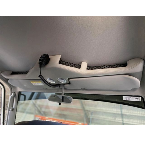 Bulge shape roof console to suit 76 series & 79 series Dual Cab (CCBULGE-76-79-DC)