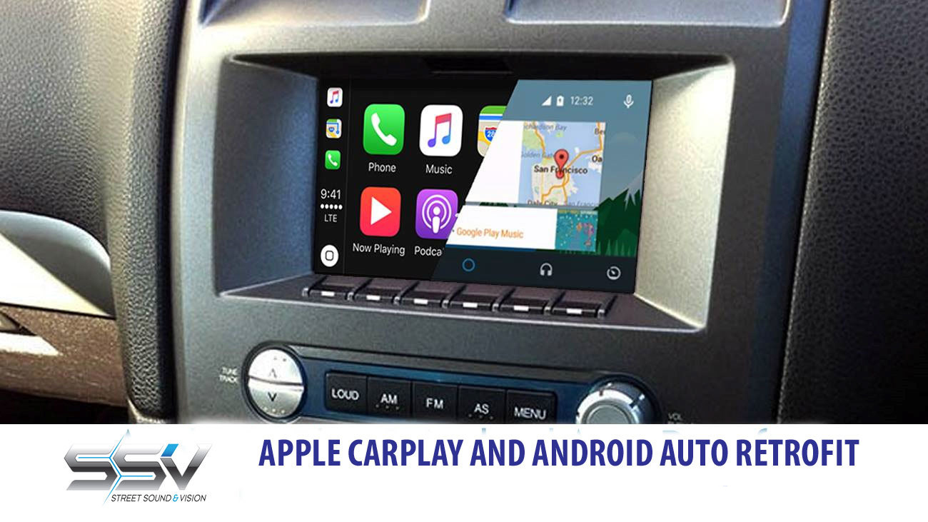 Ford BA / BF Falcon 2004 - 2008 - Integrated Touch Apple CarPlay / Android Auto | SSV