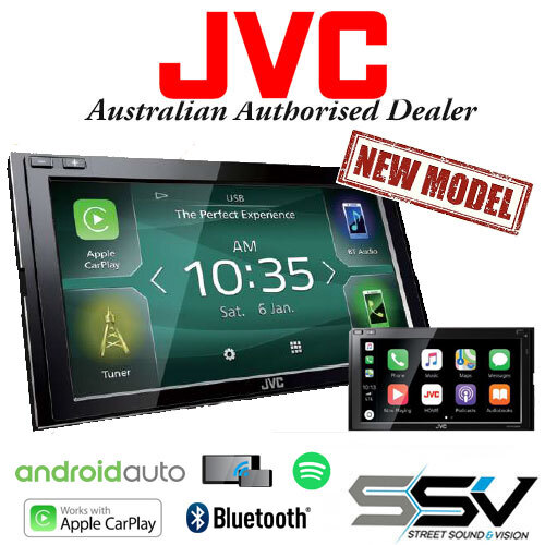 JVC KW-M950BW with Android Auto & WIRELESS Apple
