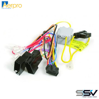 AERPRO APP8ALPH App8 secondary iso harness to suit alpine headunits 16 square pin connector