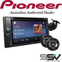 "Pioneer AVH-G215BT  6.2"" BT 2-DIN DVD Multimedia with  Pioneer Reverse Camera & Speakers"