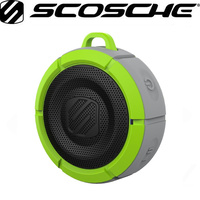 Scosche BoomBuoy Floating Waterproof Wireless Speaker (Grey/Green)
