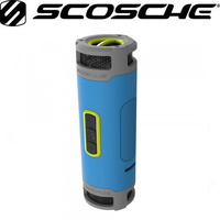 Scosche BoomBottle+ Rugged waterproof wireless portable speaker (Sport Blue)