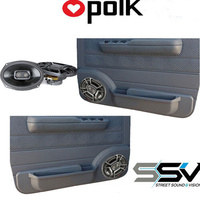 "Front Door Pods with 6x9"" Polk Marine Speakers to suit Toyota Landcruiser 70 Series"