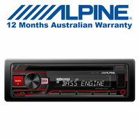 Alpine CDE-170E Car Audio  CD Receiver with USB