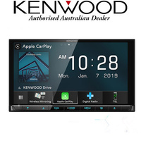 "Kenwood DDX9019DABS 6.8"" Wireless Apple Carplay / Android Auto CD / DVD Head Unit"