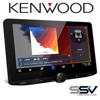 Kenwood DMX9720XDS HD 10-Inch Floating Multimedia Apple CarPlay Android Auto DAB