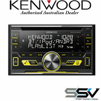 Kenwood DPX5100BT Dual Din, USB/CD Receiver High Voltage 4.0V / 3-preouts