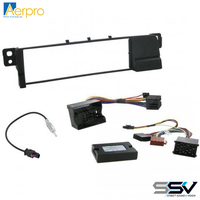 Aerpro FP8023K Install kit with single din facia to suit bmw 3 series