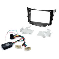 Aerpro FP8057 2-DIN Facia Kit to Suit Hyundai i30 with Aerpro Steering Wheel Control Harness