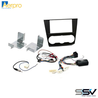 Aerpro FP8387K Install kit to suit Subaru various models gloss black