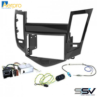 Aerpro FP9021 Install kit to suit Holden Cruze Piano Black