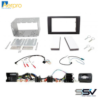 Aerpro FP9202K Install kit with double din facia to suit Audi A4