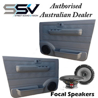 Front Door Pods suitable for Toyota Landcruiser 70 Series- with  Focal 165AC 2 way Speakers