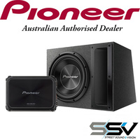 Pioneer TSA300B  12″ Subwoofer with GMD8701 Mono Amplifier