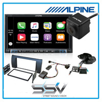 Alpine ILX702D Apple Carplay and Android Auto Car Audio Pack to suit BMW E53 2000-2006