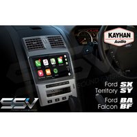SatNav To Suit Ford BA/BF/Territory | 9.6″ inch VERSION II