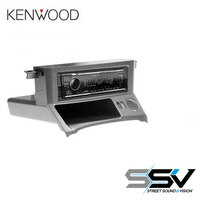 Aerpro FP9042 Fascia to suit Ford Falcon BA, BF with Kenwood KMM-BT306 Digital Media Receiver with Bluetooth Built-in.