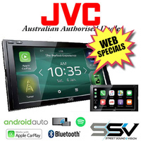 JVC KW-M950BW with Android Auto & WIRELESS Apple Carplay ExDemo