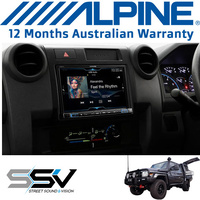 "Alpine LC70-X208AU 8"" Off Road Navigation with Fascia to suit Land Cruiser"