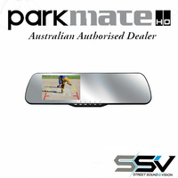 Parkmate Rear View Mirror Monitor with Built in Dash Cam & Reverse Camera Pack