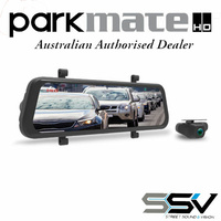 Parkmate MCPK-962DVR Rear View Mirror Monitor with Built in Dash Cam & Reverse Camera Pack
