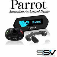 Parrot MKi9100 Bluetooth with blue OLED Screen