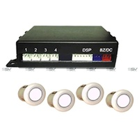 VGE PS-BZ-1B18-4R Rear Parking Sensor Kit Fully Installed & Color Coded to your vehicle