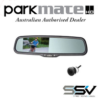 PARKMATE RVM-043AFR PACK Mirror Mount with CMD12N Digital CMOS Camera to suit Ford Ranger & Mazda BT50