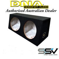 DNA SB12D 12 Inch Double Subwoofer Box