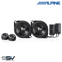 "Alpine STE-G100S Type-E 4"" Component 2-Way Speaker"