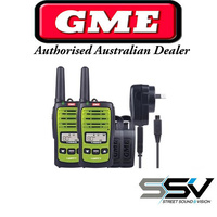 GME TX665TP 1 watt UHF handheld CB radio, TWIN pack