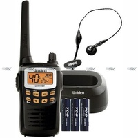 Uniden UH710SX-NB 80 Channels Ultra Compact 1 Watt UHF Handheld Radio Single Pack