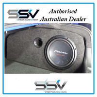 Ported 12 inch subwoofer box to suit Holden VE Sedan
