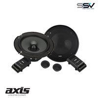 "Axis XT6022 6"" 2-Way Component Speaker System 200W With crossovers"