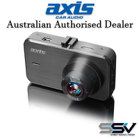 AXIS ZOOM+ HD CAMERA DASH CAM with GPS (ZOOM_plus)