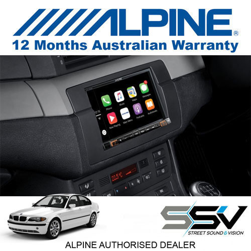 alpine 7 apple carplay android auto ilx 702e46 to suit. Black Bedroom Furniture Sets. Home Design Ideas